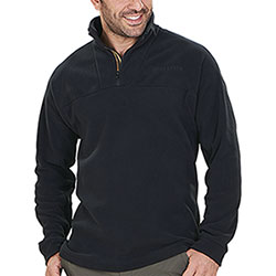 Micropile Beretta Half Zip Fleece Black