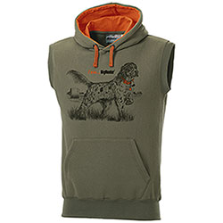 Gilet in felpa Setter in Ferma a Vento I am...BigHunter
