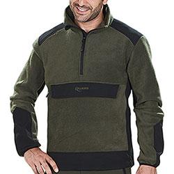 Pile Kalibro Premium Fleece Softshell Marsupio Green