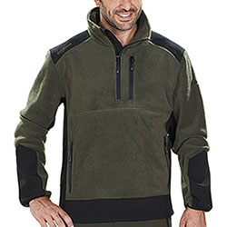 Pile Kalibro Premium Fleece Softshell Green