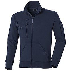 Felpa uomo Full Zip Multiutility Navy