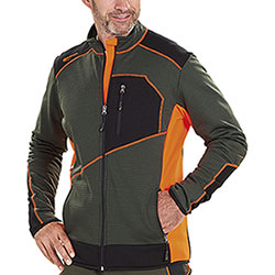 Maglia Kalibro Microsquares Active Upland Orange High Visibility