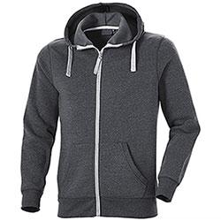 Felpa con cappuccio Full Zip Cotton Trend Dark Grey