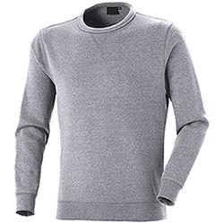 Felpa Girocollo uomo Cotton Trend Light Grey