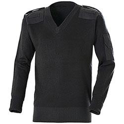 Maglione Originale Police U.K. Black con Inserti
