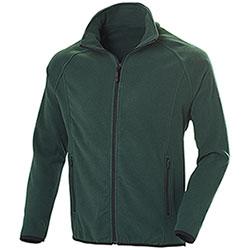 Pile uomo Nordic Dark Green Full Zip