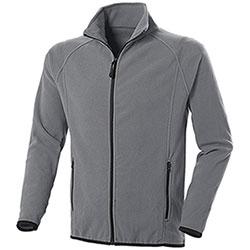 Pile uomo Nordic Grey Full Zip