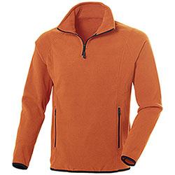 Pile uomo Nordic Orange Half Zip
