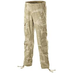 Pantaloni uomo Airborne Beige Camo