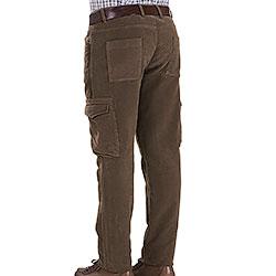 Pantaloni Beretta Moleskin Cargo Fustagno Green
