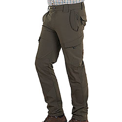 Pantaloni da caccia Kalibro Track Green