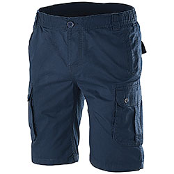 Bermuda uomo Multipockets Navy