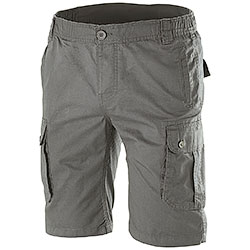 Bermuda uomo Multipockets Grey