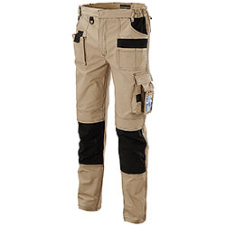 Pantaloni da Lavoro Work Professional Beige