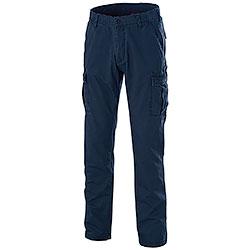 Pantaloni Delta Light Canvas Blu