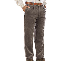 Pantaloni Velluto  Visconti di Modrone Kalibro Light Brown