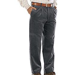 Pantaloni Kalibro Elasticizzati Velluto Duca Visconti M. Grey