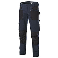 Pantaloni uomo Professional Big Pockets Navy