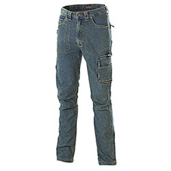 Jeans da lavoro Cofra Work Elasticizzato