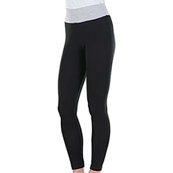 Panta Fit Lady Black Grey Mélange