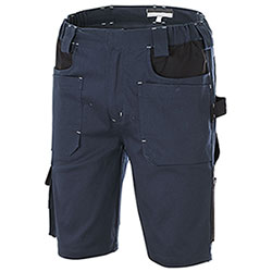 Bermuda da Lavoro Professional Big Pockets Navy