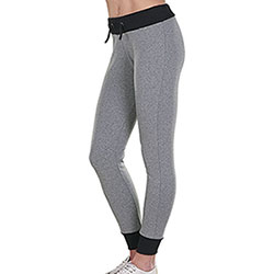 Panta Lady Stretch Felpa Bicolor