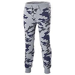 Pantaloni Felpa Fit   Urban Camo