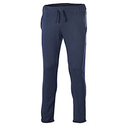 Pantaloni felpa Fit French Terry Contrast Blu