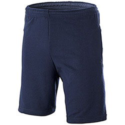 Bermuda uomo Fruit of the Loom French Terry Navy