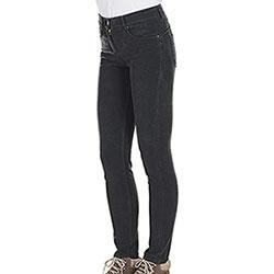 Pantaloni Donna Kalibro Fustagno Push Up Black