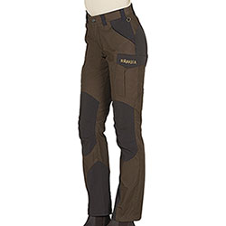 Pantaloni Härkila Lady Gevar Slate Brown/Shadow Brown