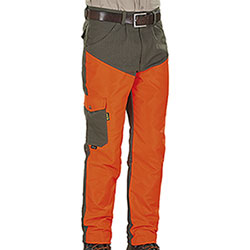 Pantaloni caccia Kalibro Tracker Green Orange Canvas e Cordura
