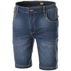 Bermuda Jeans Diadora Utility Denim Stone Elasticizzati