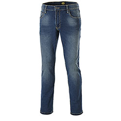 Jeans uomo Diadora Utility Denim Stone 5pkt Blu Elasticizzati