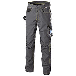 Pantaloni da Lavoro Cofra Teck Wear Grey Black Antimacchia