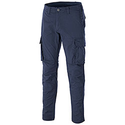 Pantaloni Stretch Cargo New Berl Navy