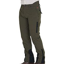 Pantaloni caccia Kalibro Boar Softshell Green Black