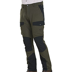 Pantaloni caccia Kalibro Tecno Stretch Green Black