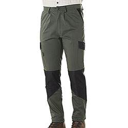 Pantaloni Kalibro Hunter Cotton Stretch Green Cordura Black