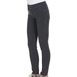 Pantaloni Donna Kalibro Fustagno Push Up Dark Grey