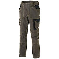 Pantaloni da Lavoro Cofra Dublin Canvas Green Black