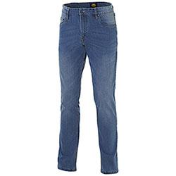 Jeans uomo Diadora Utility Denim Stone 5pkt Bleach