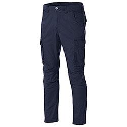 Pantaloni Cargo uomo Fashion Stretch Navy