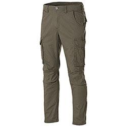 Pantaloni Cargo uomo Fashion Stretch Military Green