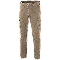 Pantaloni Cargo Fashion Stretch Kaki