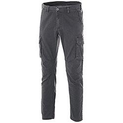 Pantaloni Cargo Fashion Stretch Grey