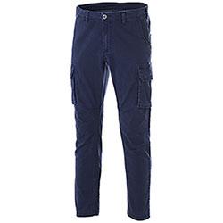Pantaloni Cargo Fashion Stretch Navy