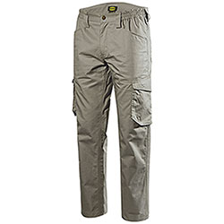 Pantaloni uomo Diadora Utility Staff Light Cotton Grey Hemp