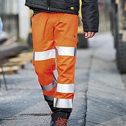 Pantaloni Diadora Utility Cargo Orange HV