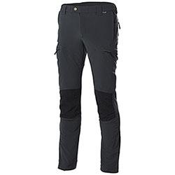 Pantaloni uomo Hiker Light Elasticizzati Classic Black